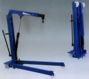 ОМА 587 (Werther W108SE). Кран гаражный складной гидравлический. Г/п 1000 кг.