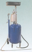 OMA 839 (Werther WL1839) Установка для сбора отработанного масла через щуп с предкамерой и воронкой, 80 л.