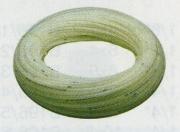 Шланг белый химически стойкий инертный жесткий рильсан 4х6