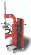 Эльф - Подкатной вулканизатор для грузовых колес, с пневмолифтом, нагревательные элементы с изменяемой геометрией поверхности.
