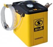 КС-122 Установка предназначена для полной замены жидкости в любых тормозных системах автомобилей, в том числе, оснащенных ABS.