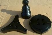 cod.MC250001 и MC250002 Комплект адаптеров для обслуживания мото колес