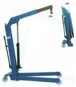 OMA 590B. Кран гаражный, складной, с гидравлической помпой двойной активации. г/п 1000 кг. (Werther W108)
