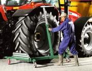 WD 1500 Тележка для транспортировки колес тракторной сельскохозяйственной техники.